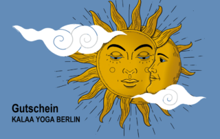 Gift vouchers KALAA Yoga Berlin